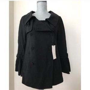 ☁️ nwt!!🎈 zara short double breasted peacoat